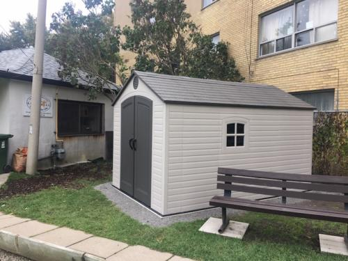 new shed